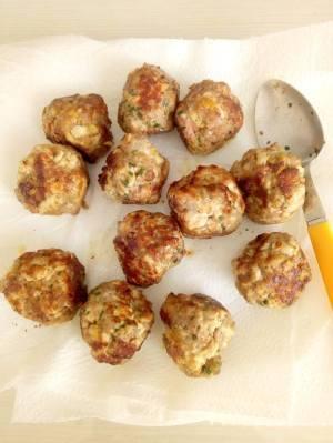 cuisson des boulettes
