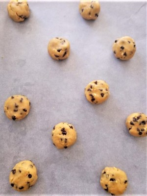 cookies aux beurre de cacahuètes et pépites de chocolat