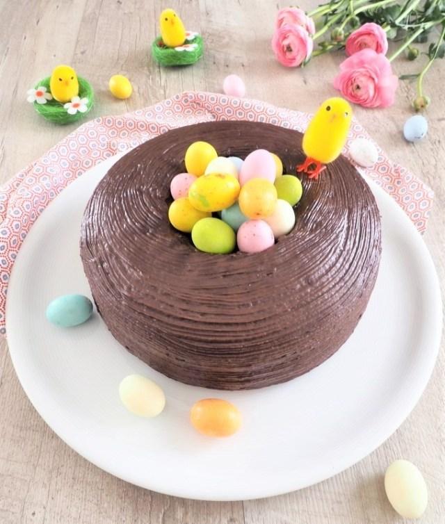 gâteau au chocolat pour pâques