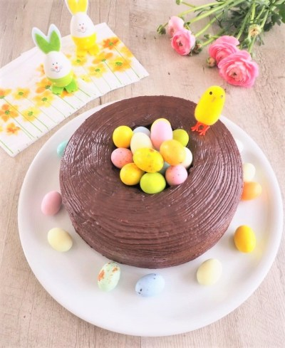 gâteau chocolat de pâques