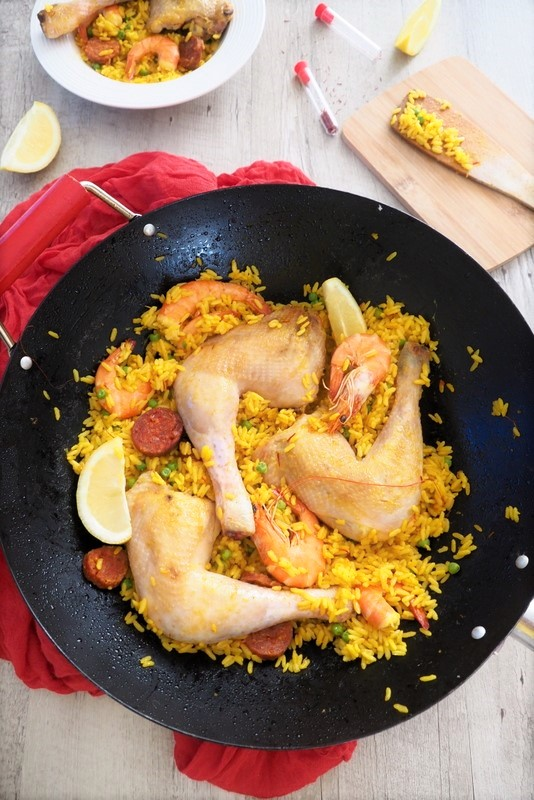 riz et poulet au safran