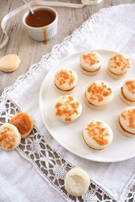 macarons caramel beurre salé