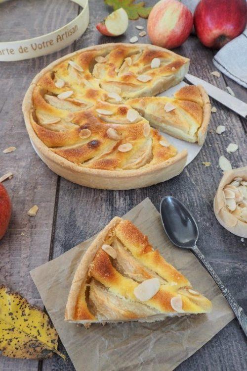 comment faire une tarte normande aux pommes ?