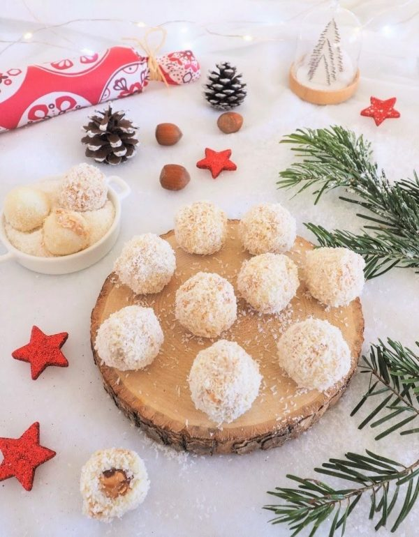 Truffes à la noix de coco