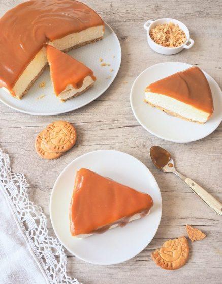 cheesecake au caramel (sans cuisson)