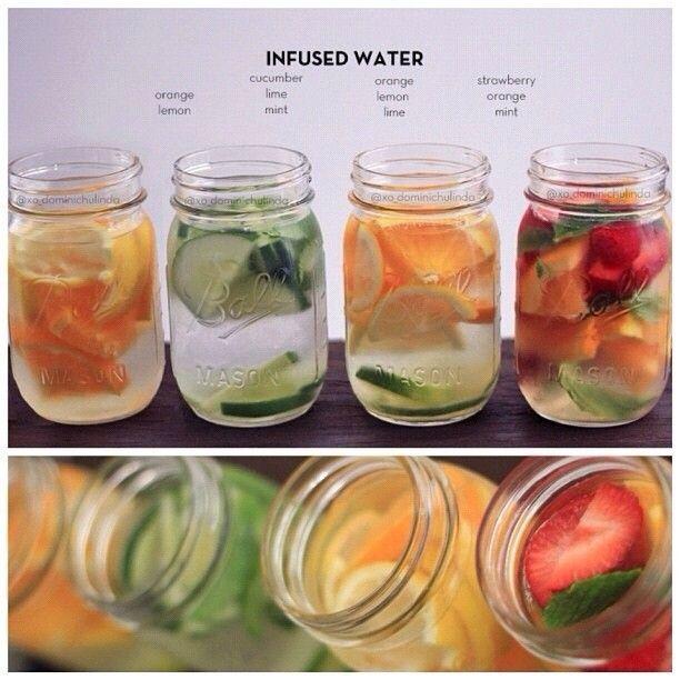 Tu n'aimes pas le goût de l'eau qui est sans goût!? Voici une alternative forte intéressante, mets y des agrumes frais!