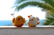 Pour l'instant, Piou et Poulette se dorent la pilule sous les palmiers, mais ils viendront bientôt à votre rencontre !