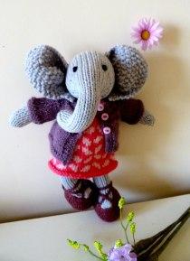 Les Petits éléphant tricot
