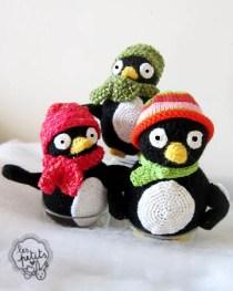 Les Petits pingouins crochet