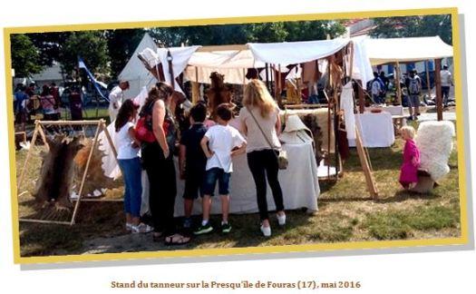 La compagnie des Pieds Poudreux est une des rares compagnies en Europe à  proposer la découverte de la tannerie médiévale. L atelier présente  différentes ... c5244f51dfd