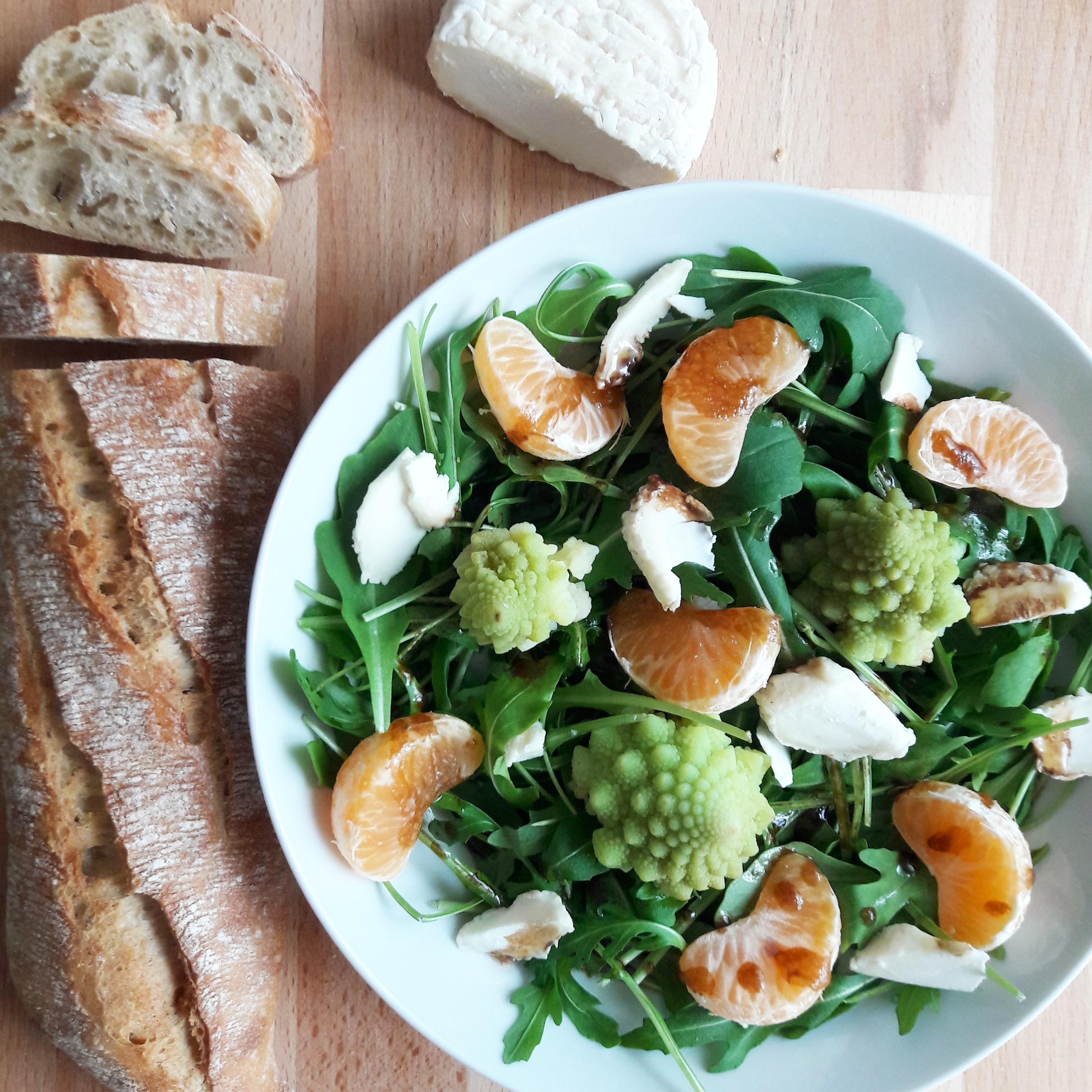 Salade d'hiver acidulée