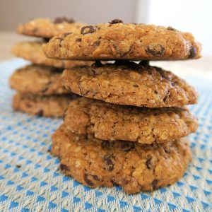 Cookies healthy aux flocons d'avoine