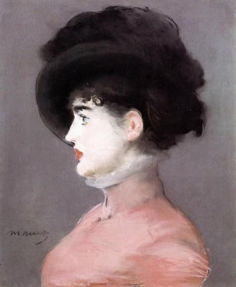 Edouard-Manet-La-Viennoise-Portrait-dIrma-Brunner