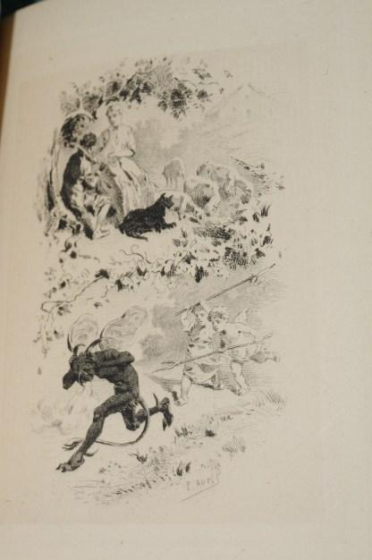 D'AMERVAL, La Grande Diablerie, Poème du XVème siècle, Paris, Georges Hurtrel, 1884