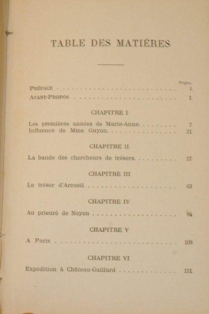 COYNART, Une Sorcière au XVIIIème siècle, Marie-Anne de la ville (1680-1725), Paris, Hachette, 1902