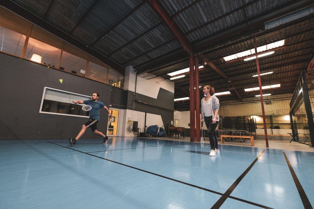 Olympiades Badminton