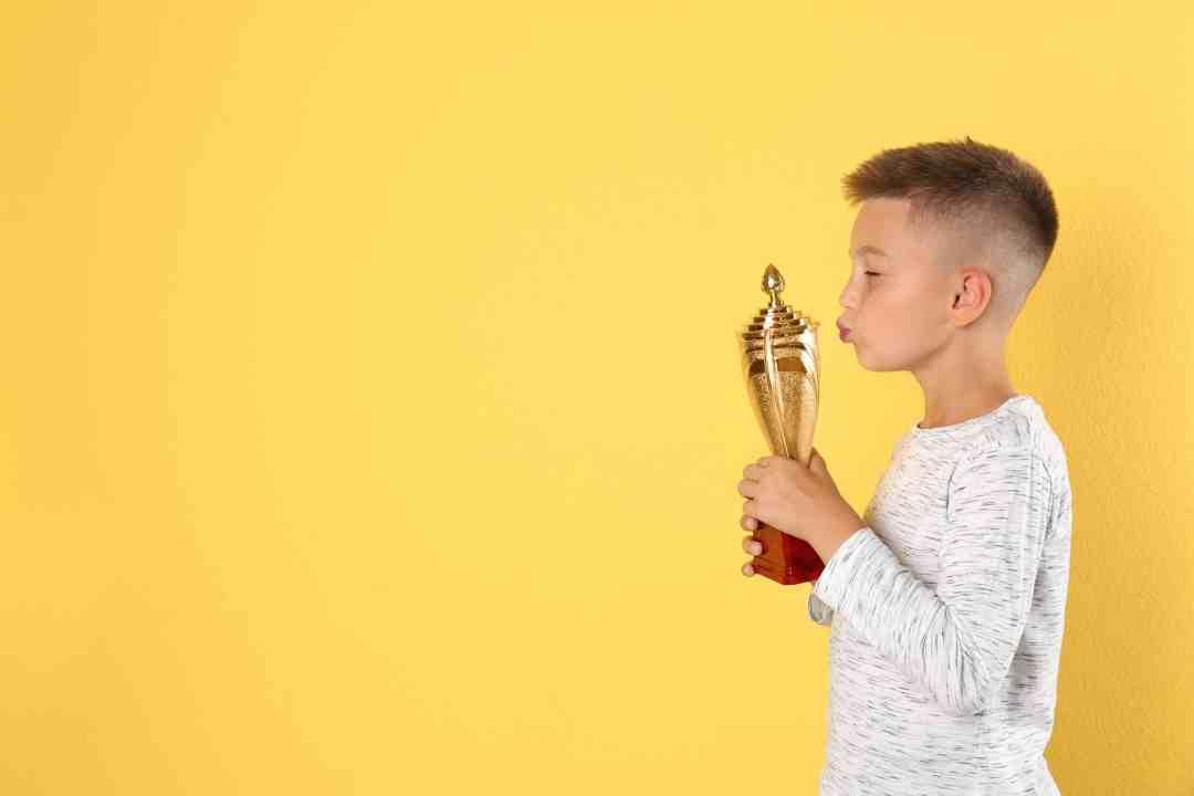 Photo Enfant trophée