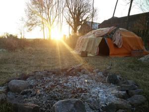 Hutte de sudation Pleine Lune d'Août @ La Ferme de l'Entre Deux Saisons | Amay | Wallonie | Belgium