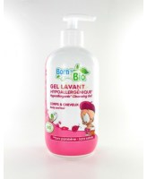 gel lavant bébé born to bio
