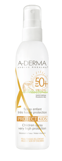 crème solaire A-derma enfants