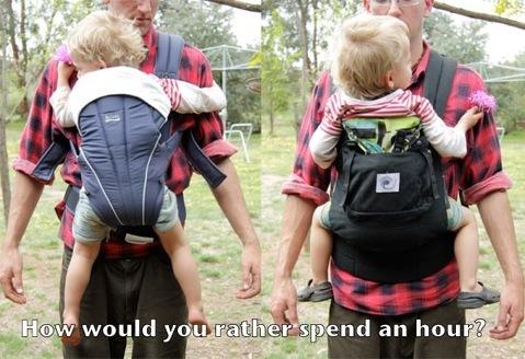 comment porter bébé portage physiologique