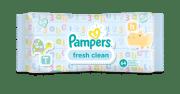 Lingettes bébé Pampers fresh clean