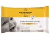 Lingettes bébé bio comptoirs et compagnies miel de manuka