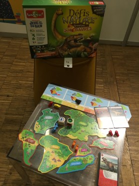 défis nature dinosaures bioviva lesptitesmainsdabord journée presse jeux et jouets 2020 idées de cadeaux Noël