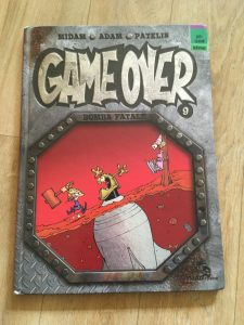 game over kid paddle