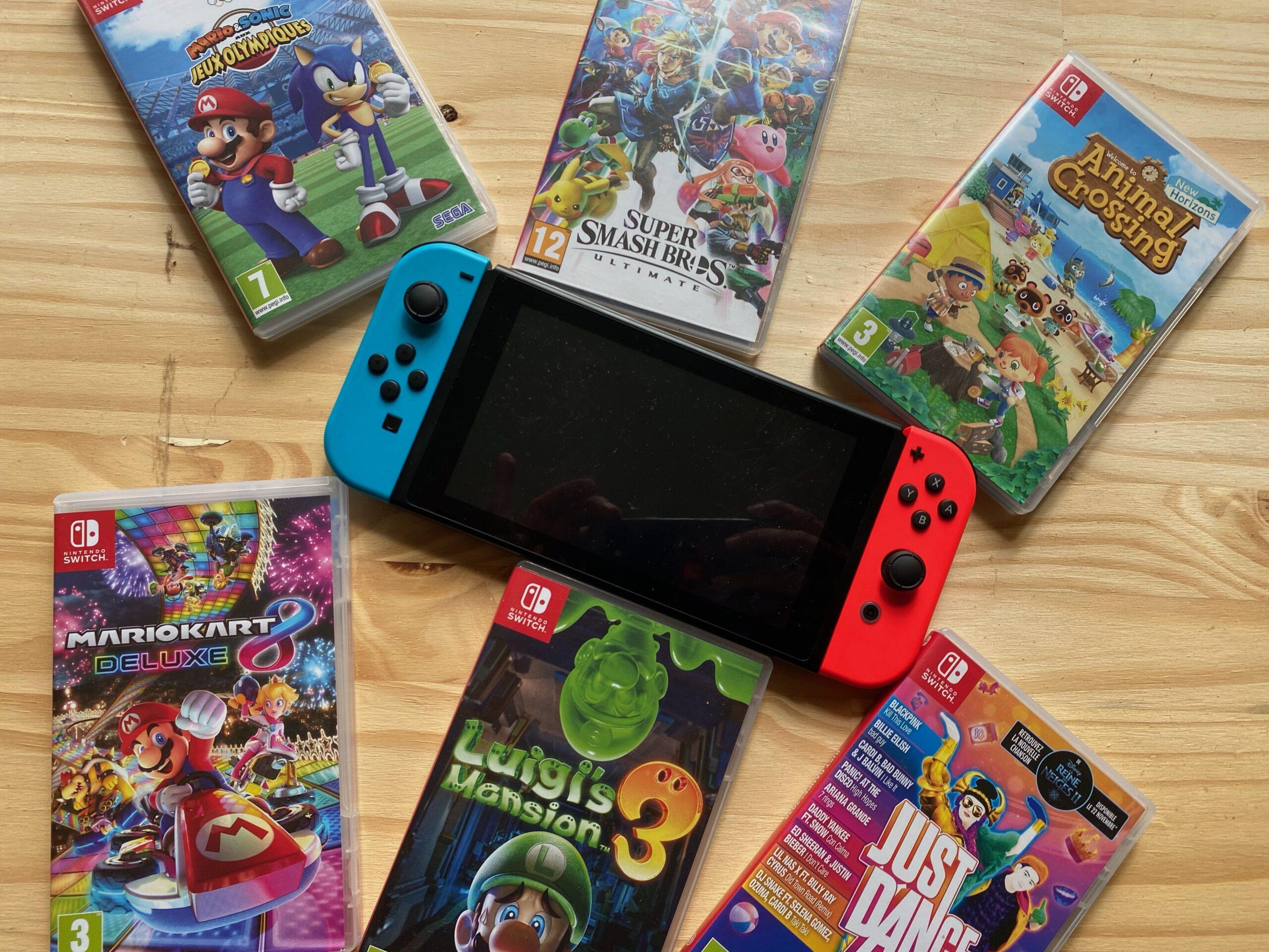 quelle console de jeu choisir pour ses enfants switch