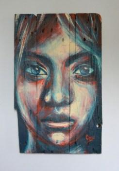 Maya-peinture-sur-bois-portrait-femme