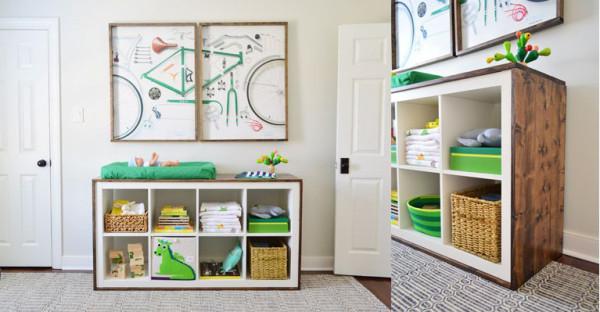 Ltagre IKEA KALLAX avec 8 casiers   Les ptits mots