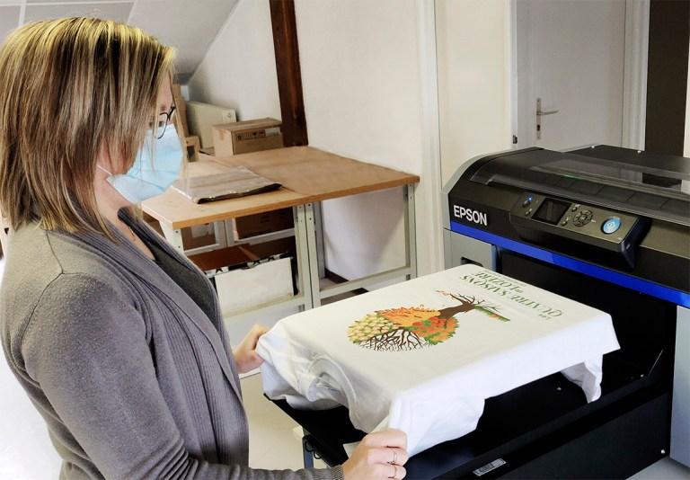 Read more about the article Création d'un atelier d'impression sur textile