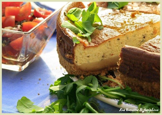 Chesse Cake au Gorgonzola 1