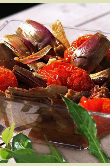 Artichauts poivrades à la provençale