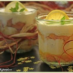 Tiramisu à la crème de citron et limoncello citron