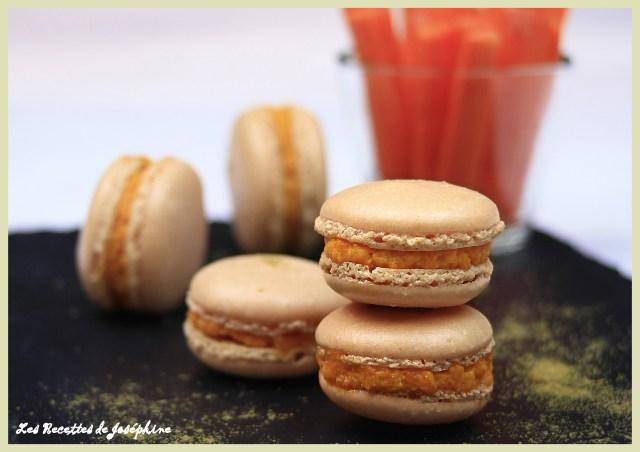 Macarons au Carotte 1