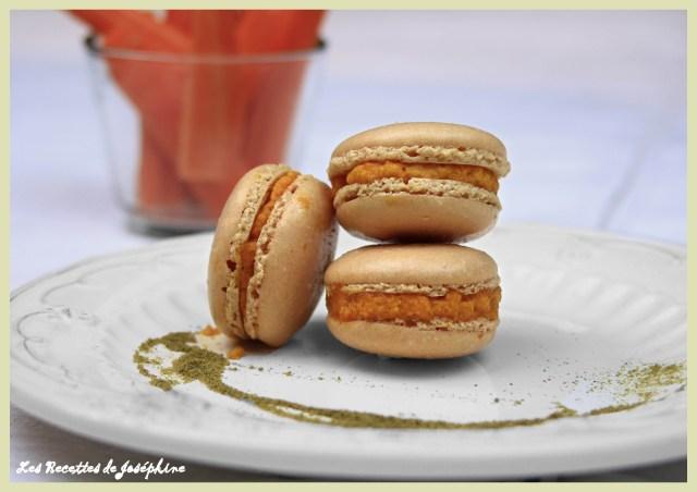 Macarons au Carotte 2