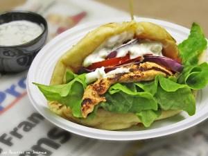 Sandwich tandoori