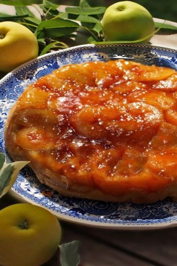 tarte tatin aux pommes