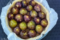 tarte aux figues roties