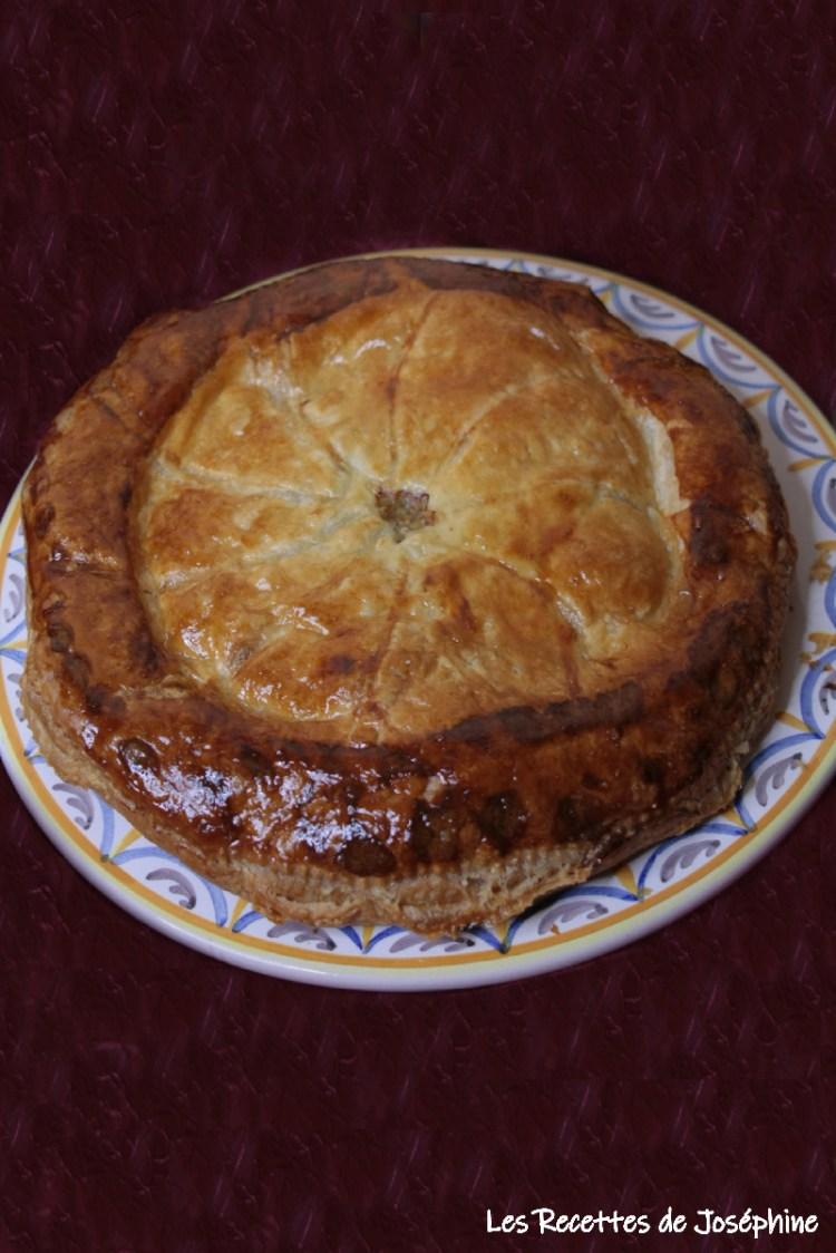 Tourte au canard foie gras et cognac