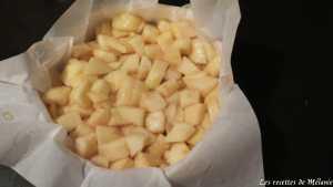 Tarte aux poires caramélisées