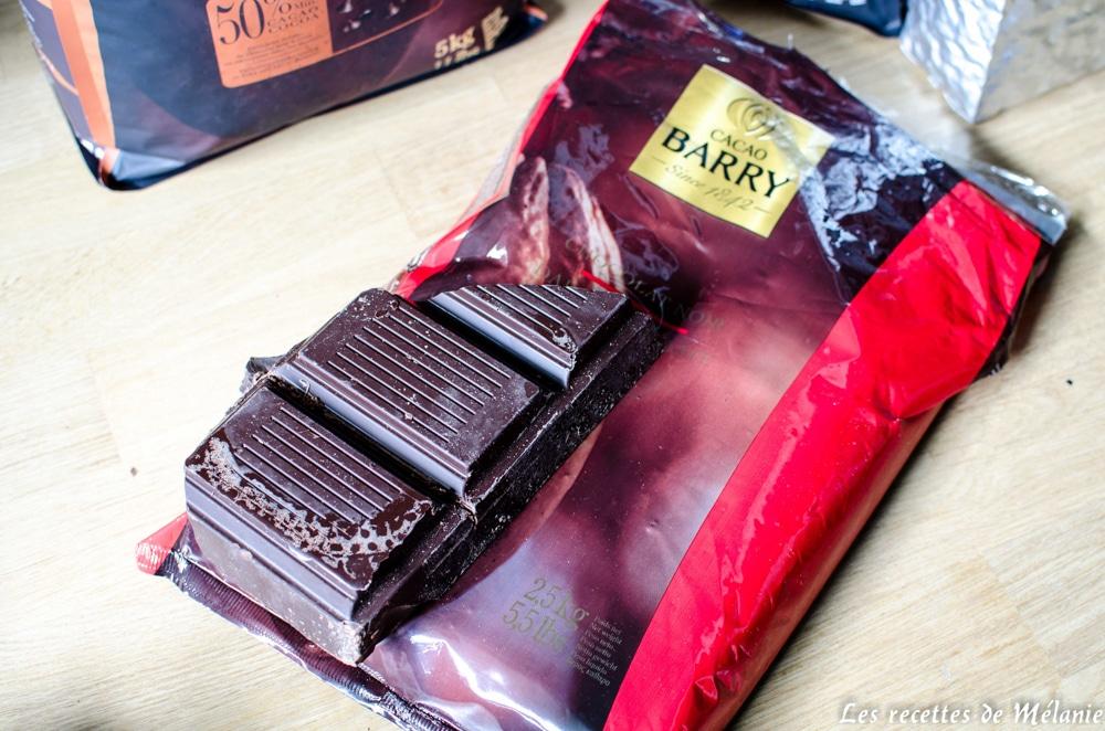 Commande chocolatée
