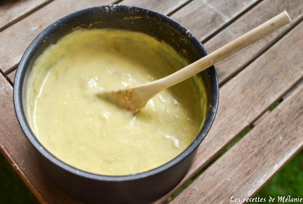 crème pâtissière à la rhubarbe