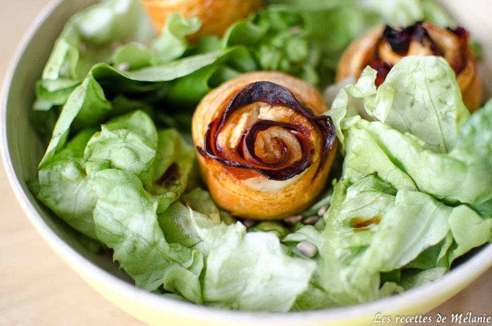 Rose de chorizo au brie et paprika - Battle food #43