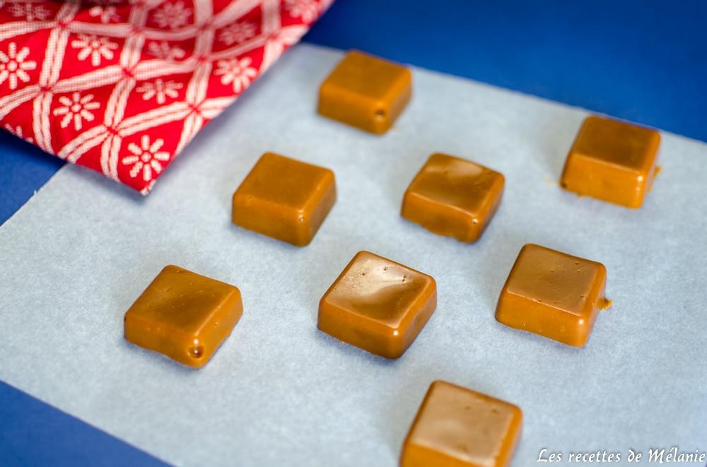 Idées de cadeaux gourmands pour Noël : caramels mous