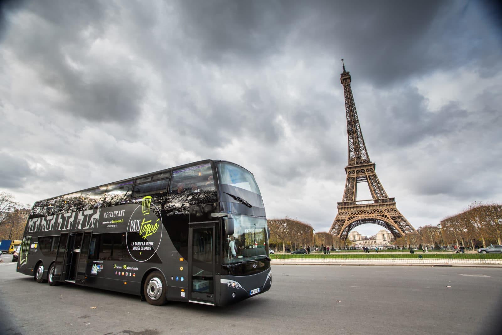 Le bus toqué : un restaurant itinérant à Paris