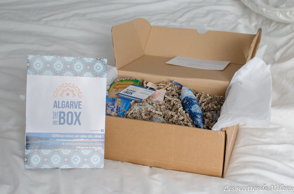 Test de la box Algarve in the box de février 2018
