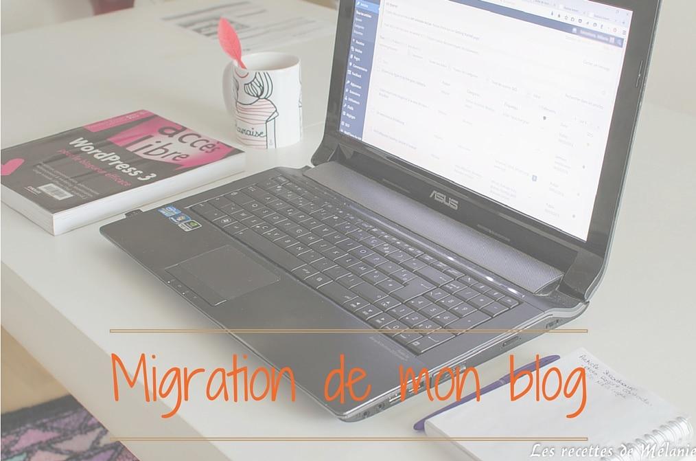 Migration de mon blog